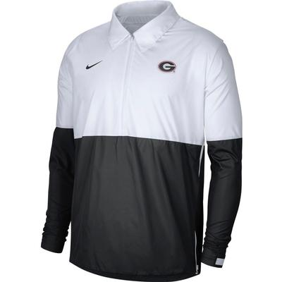 Georgia Nike Men's Lightweight Coach Jacket