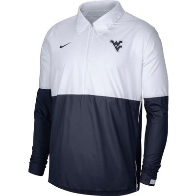 West Virginia Nike Men's Lightweight Coach Jacket