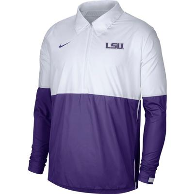 LSU Nike Men's Lightweight Coach Jacket
