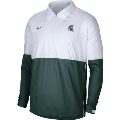 Michigan State Nike Men's Lightweight Coach Jacket