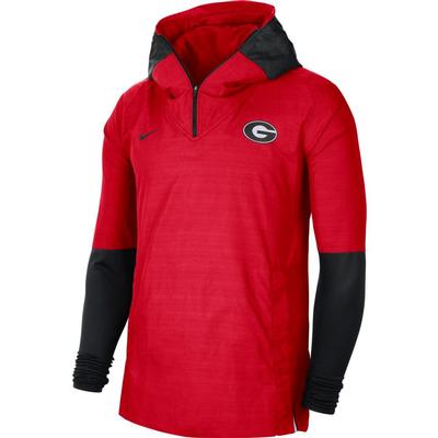 Georgia Nike Men's Lightweight Player Jacket