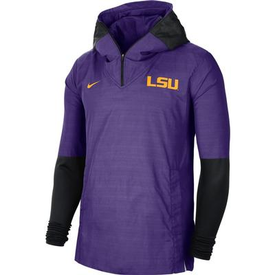 LSU Nike Men's Lightweight Player Jacket