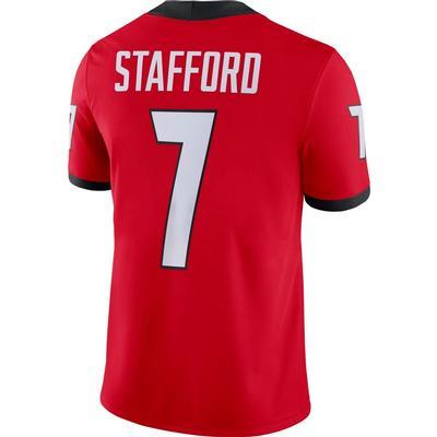Georgia Nike Matthew Stafford Game Jersey