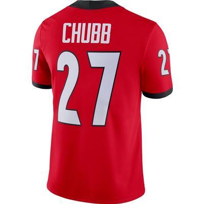 Georgia Nike Nick Chubb Game Jersey