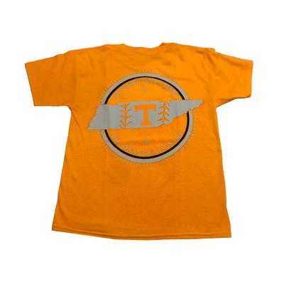 Tennessee YOUTH Baseball State Short Sleeve Tee