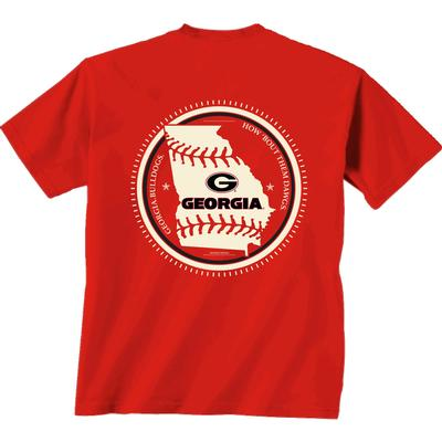 Georgia YOUTH Baseball State Short Sleeve Tee