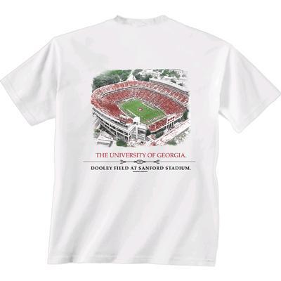 Georgia Sanford Stadium Comfort Colors Tee