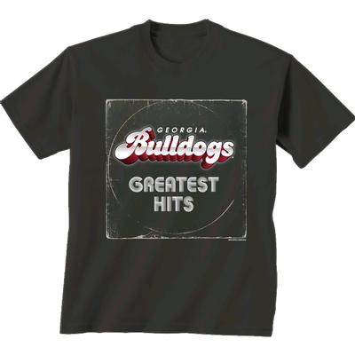 Georgia Comfort Colors Bulldogs Greatest Hits Tee