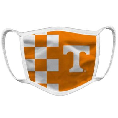 Tennessee YOUTH Checkerboard - Power T Face Mask