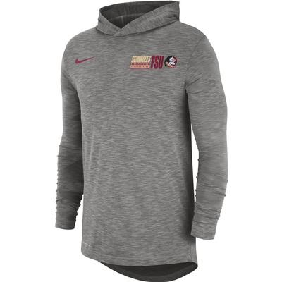 Florida State Nike Men's Dri-fit Cotton Slub Hoody Tee