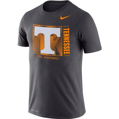 Tennessee Nike Men's Dri-fit Cotton Team Issue Short Sleeve Tee