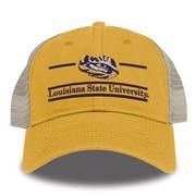 Lsu Gold Bar Mesh Hat