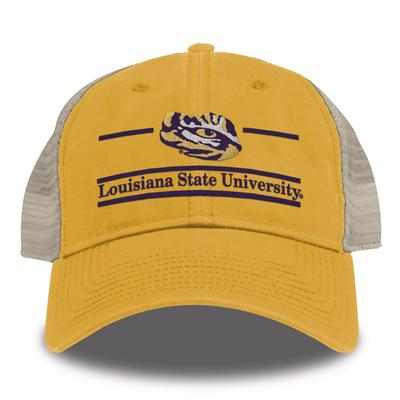 LSU Gold Bar Mesh Hat