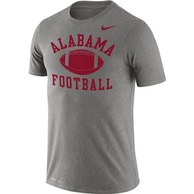 Alabama Nike Men's Legend Football Short Sleeve Tee