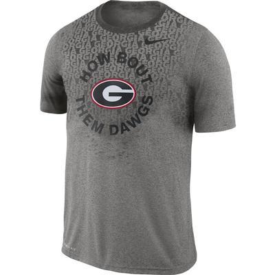 Georgia Nike Men's Legend Lift Short Sleeve Tee