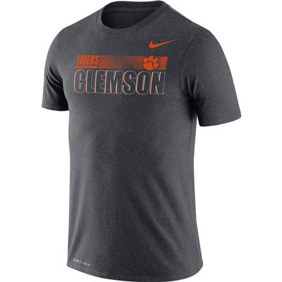 Clemson Nike Men's Legend Team Issued Short Sleeve Tee