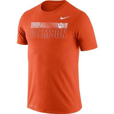 Clemson Nike Men's Legend Team Issued Short Sleeve Tee