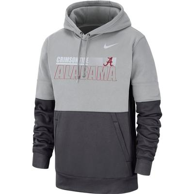 Alabama Nike Men's Therma Hoodie Pullover