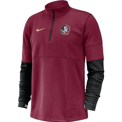Florida State Nike Men's Therma Half Zip Top