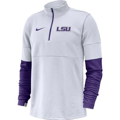 LSU Nike Men's Therma Half Zip Top