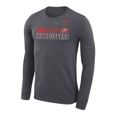 Western Kentucky Nike Men's Legend Sideline Long Sleeve Tee