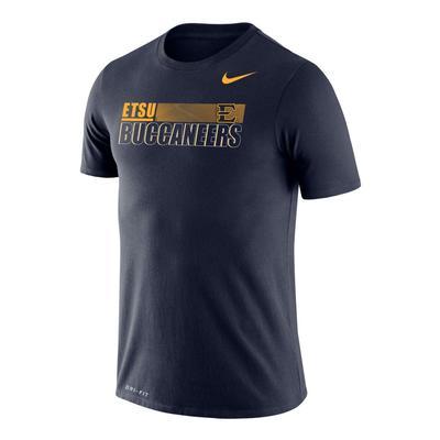 ETSU Nike Men's Legend Sideline Short Sleeve Tee