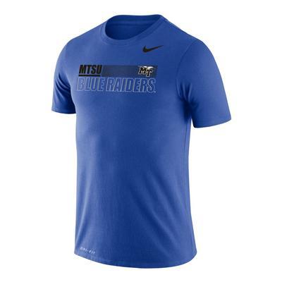 MTSU Nike Men's Legend Sideline Short Sleeve Tee