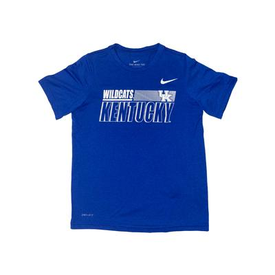 Kentucky Nike Youth Legend Sideline Short Sleeve Tee