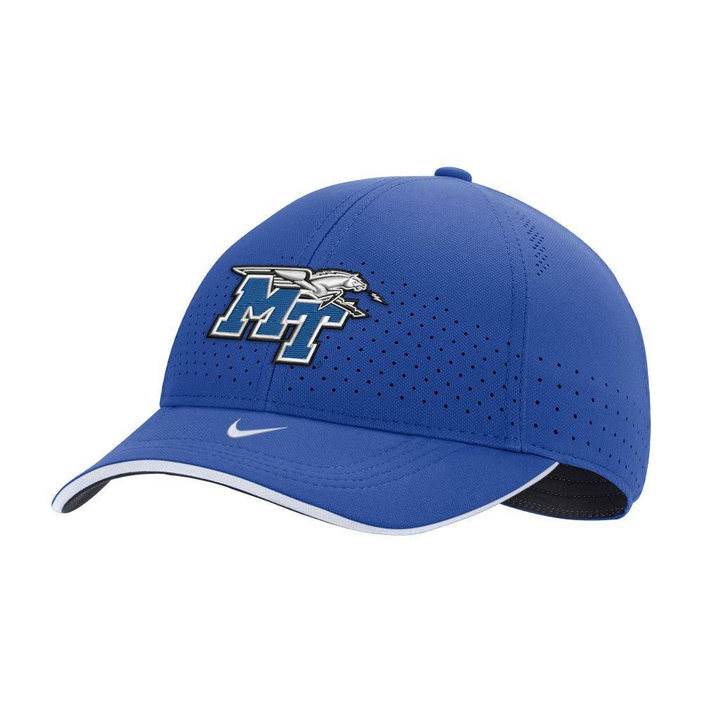 Mtsu Nike L91 Sideline Dri- Fit Adjustable Hat