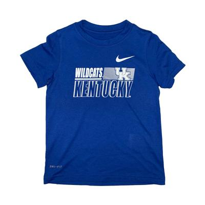 Kentucky Nike Toddler Sideline Legend Dri-Fit Tee