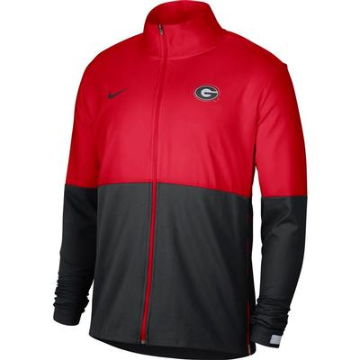 Georgia Nike Men's Woven Full Zip Jacket