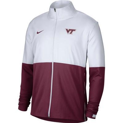 Virginia Tech Nike Men's Woven Full Zip Jacket