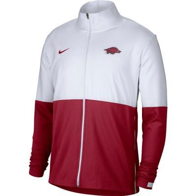 Arkansas Nike Men's Woven Full Zip Jacket