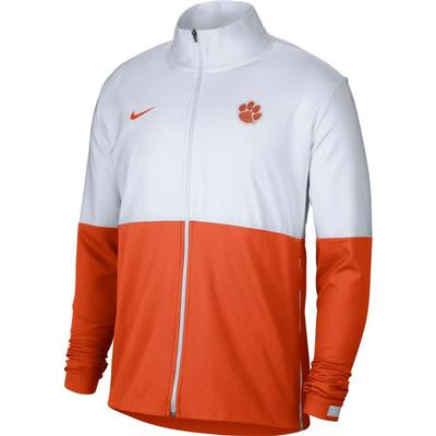 Clemson Nike Men's Woven Full Zip Jacket
