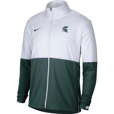 Michigan State Nike Men's Woven Full Zip Jacket