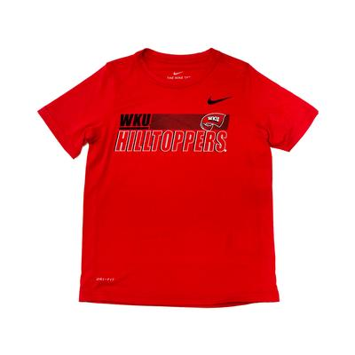Western Kentucky Youth Legend Sideline Short Sleeve Tee
