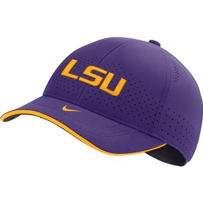 LSU Nike Men's Sideline Aero C99 Swooshflex Hat