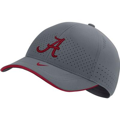 Alabama Nike Men's Sideline Aero L91 Adjustable Hat