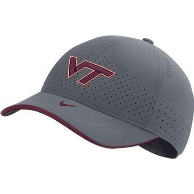 Virginia Tech Nike Men's Sideline Aero L91 Adjustable Hat