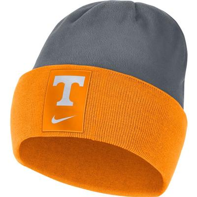 Tennessee Nike Men's Sideline Color Block Cuff Dry Beanie