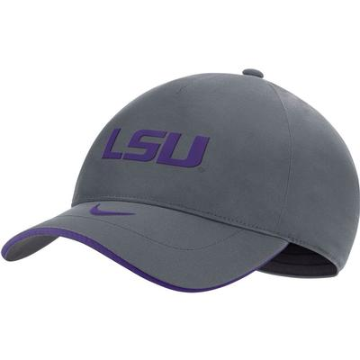 LSU Nike Men's Sideline Shield L91 Adjustable Hat