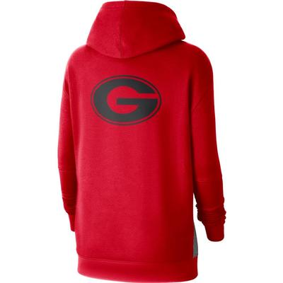 Georgia Nike Women's NCAA Fleece Pullover Hoodie