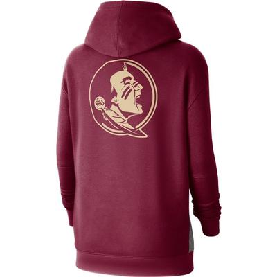 Florida State Nike Women's NCAA Fleece Pullover Hoodie