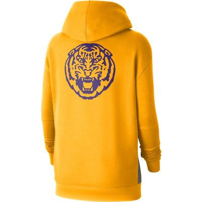 LSU Nike Women's NCAA Fleece Pullover Hoodie