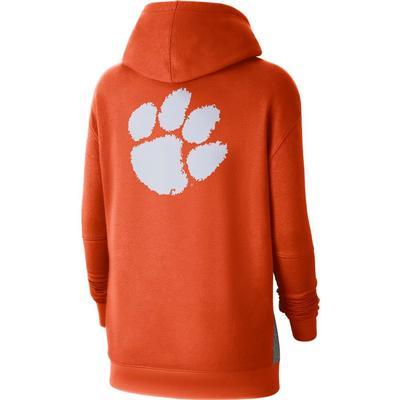 Clemson Nike Women's NCAA Fleece Pullover Hoodie