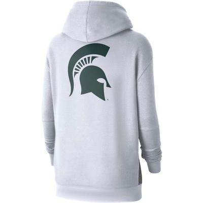 Michigan State Nike Women's NCAA Fleece Pullover Hoodie