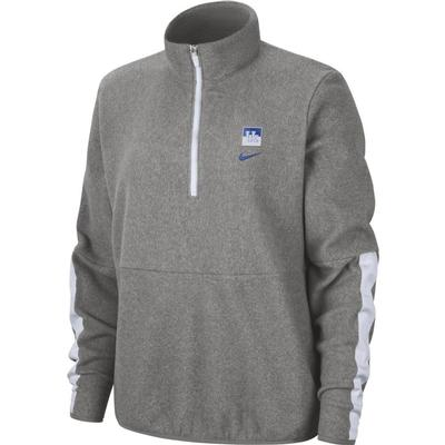 Kentucky Nike Women's Therma Fleece Half Zip Pullover