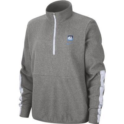 UNC Women's Therma Fleece Half Zip Pullover