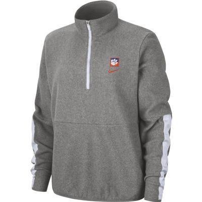 Clemson Women's Therma Fleece Half Zip Pullover