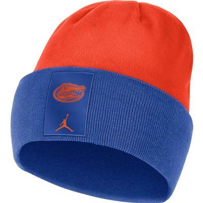 Florida Nike Men's Jordan Brand Color Block Cuff Dry Beanie
